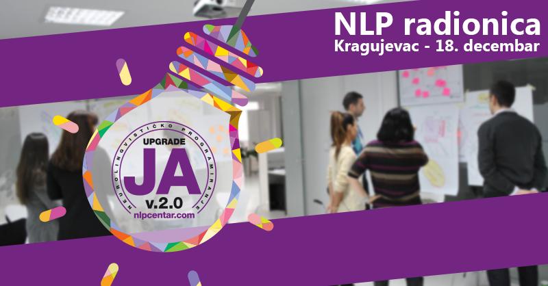 Promotivna NLP radionica u Kragujevcu