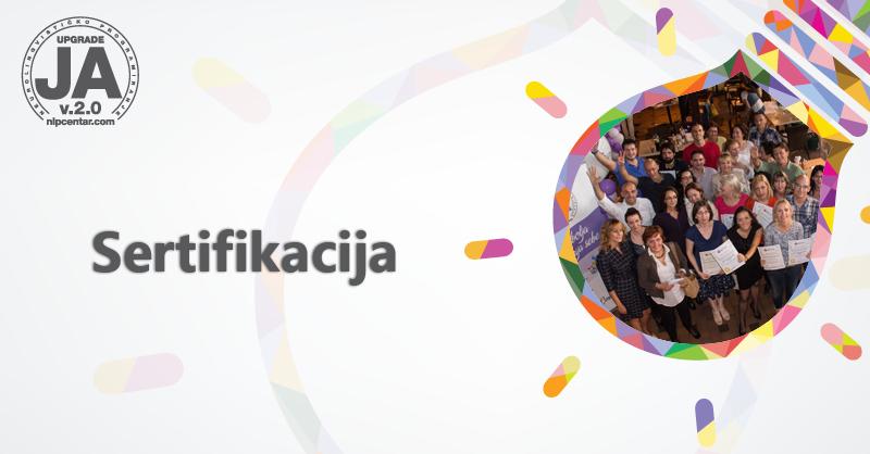 Sertifikacija polaznika treninga iz Beograda, Novog Sada i Kragujevca