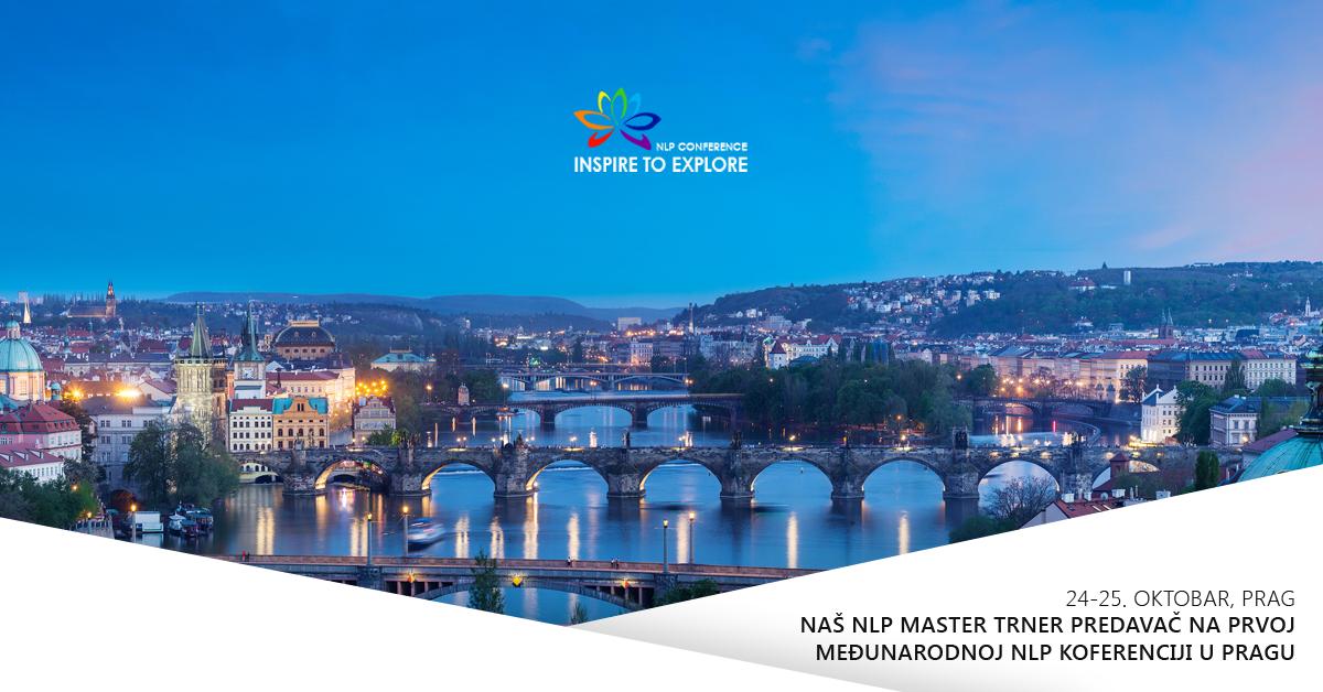 Naš NLP Master trener predavač na prvoj međunarodnoj NLP konferenciji u Pragu