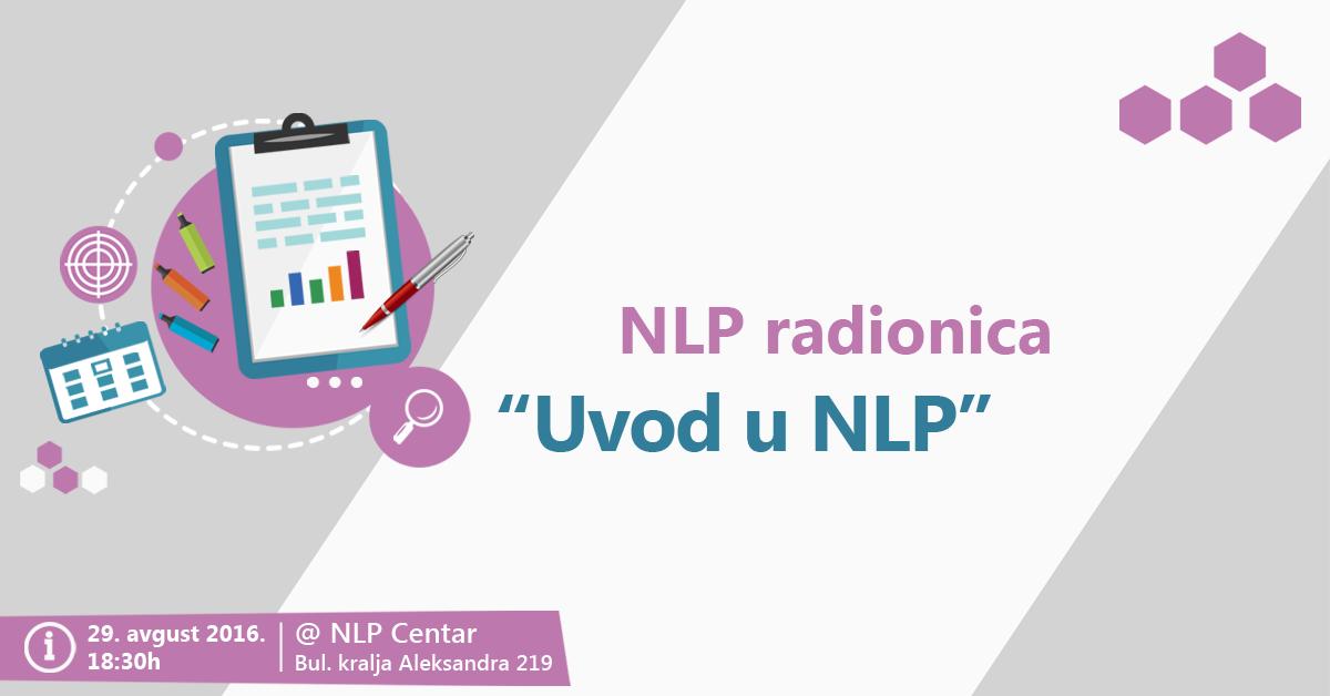 NLP Radionica – Uvod u NLP