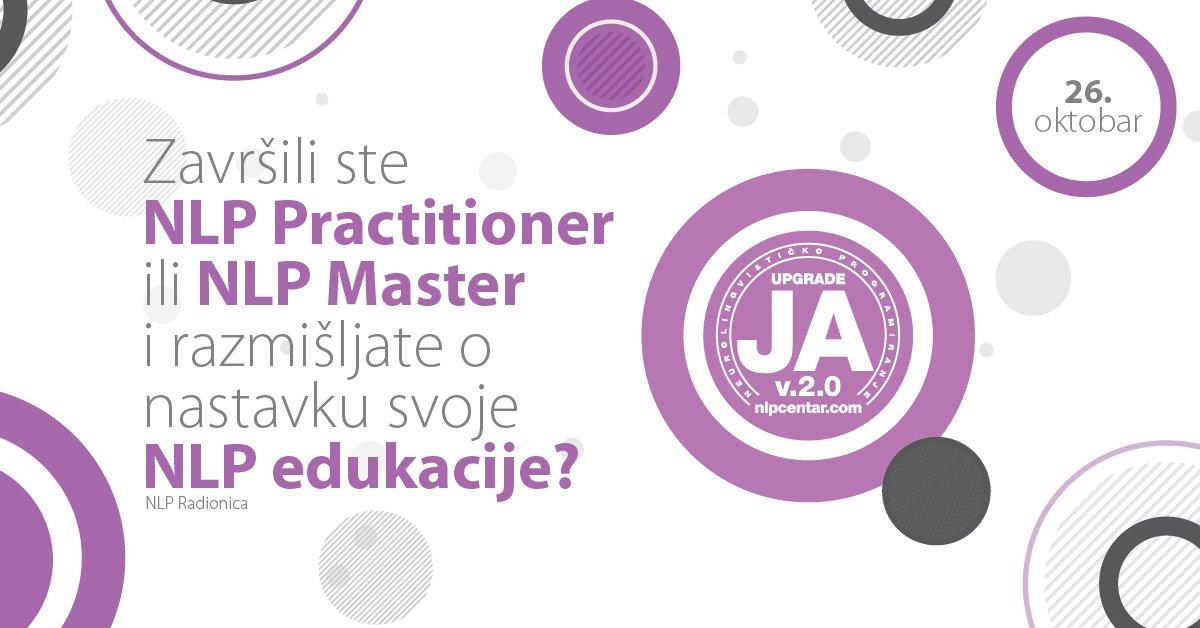 Završili ste NLP Practitioner ili Master i razmišljate o nastavku svoje NLP edukacije?