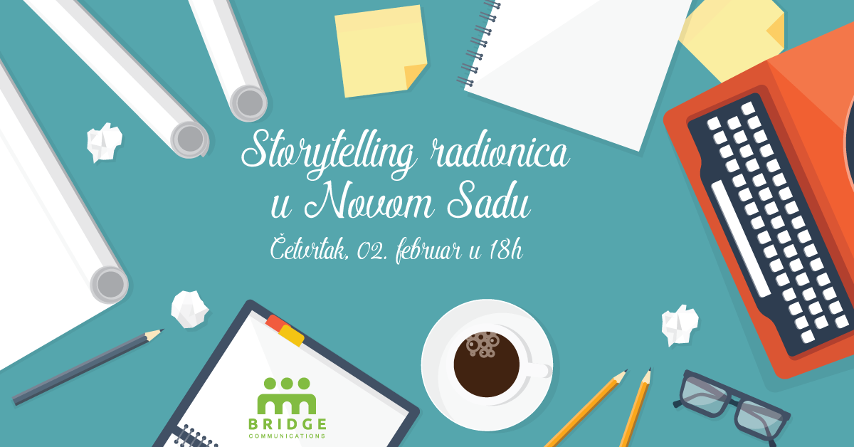 """Radionica """"Storytelling"""" u Novom Sadu"""