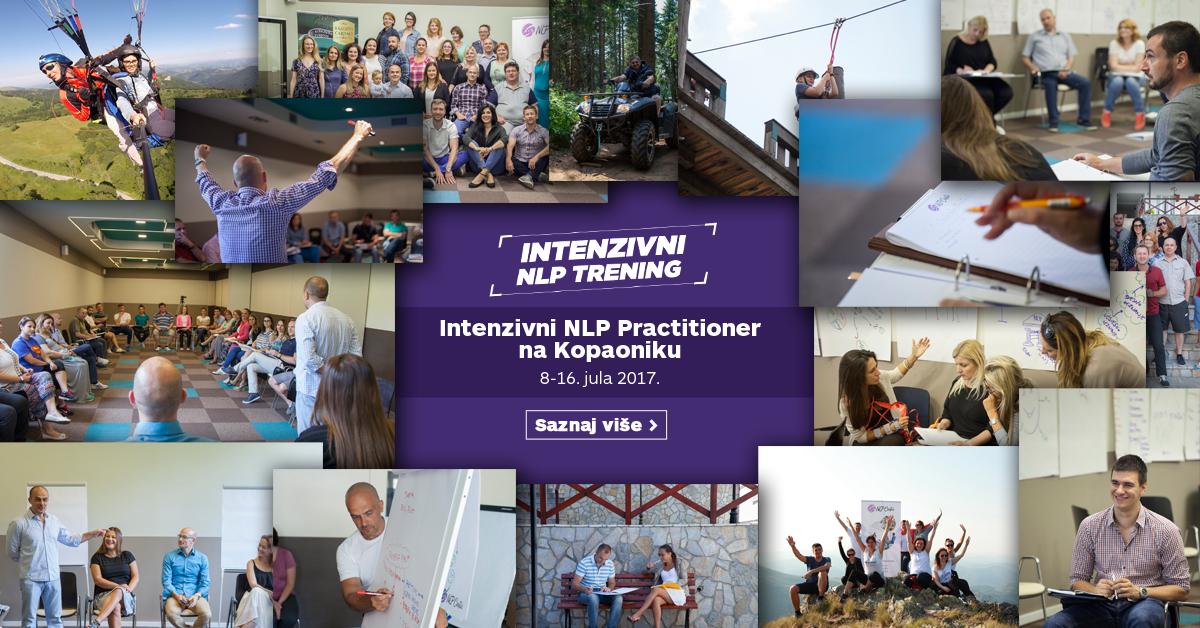 Intenzivni NLP Practitioner