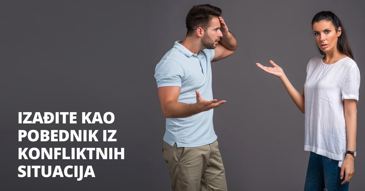 Kako da izađete kao pobednik iz konfliktnih situacija