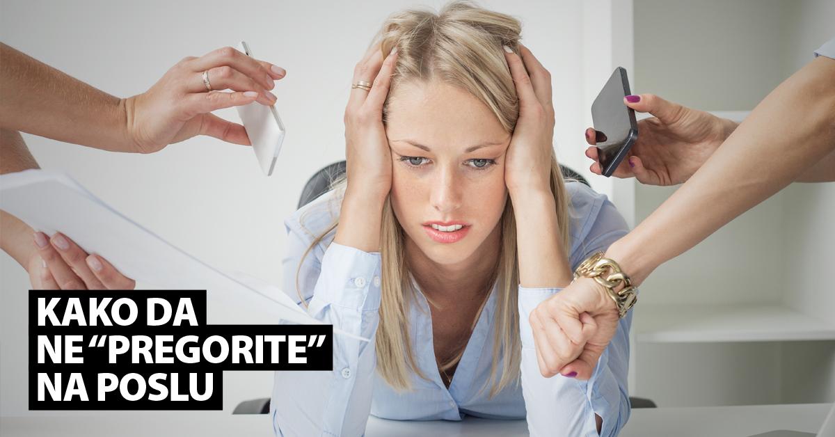 "Izbegni ""burn out"" efekat na poslu – naš recept za uspeh"