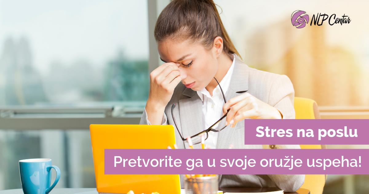 Stres na poslu, NLP i tehnike za stres
